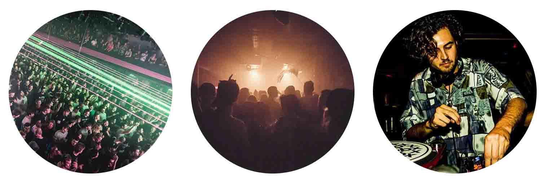 Techno clubs